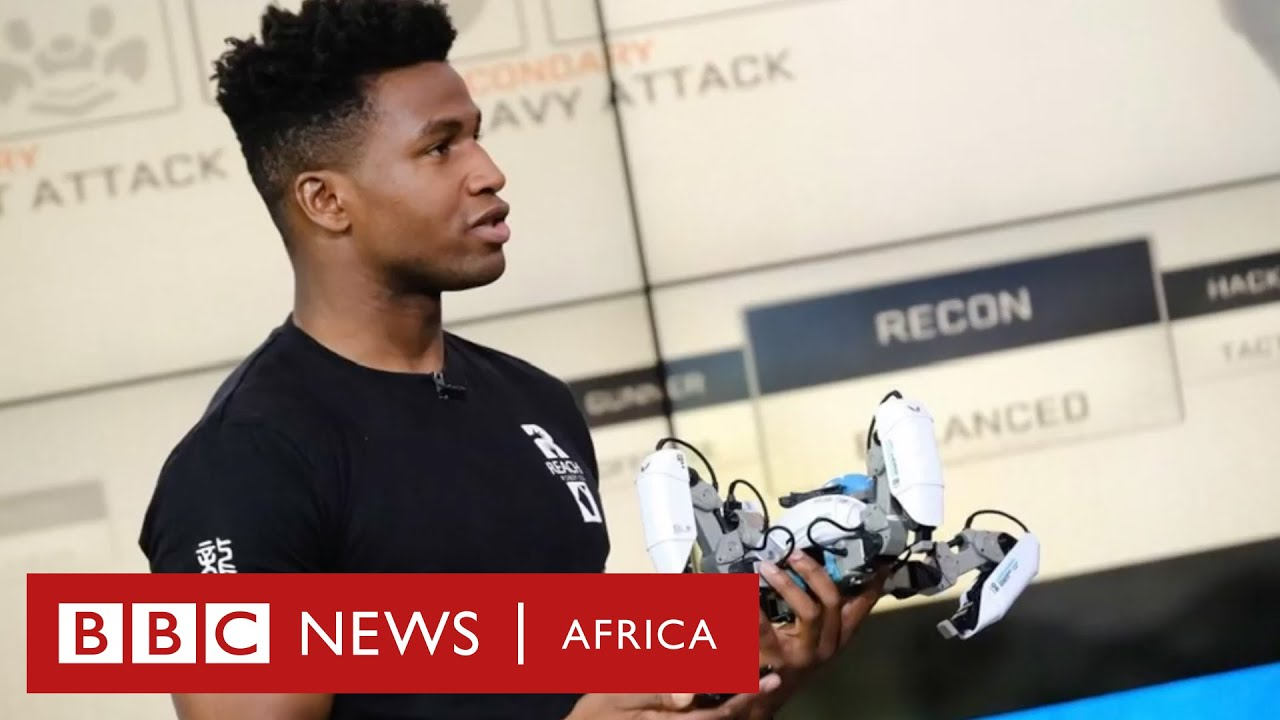 Silas Adekunle: How I created the world's first intelligent gaming robot - Gist Nigeria