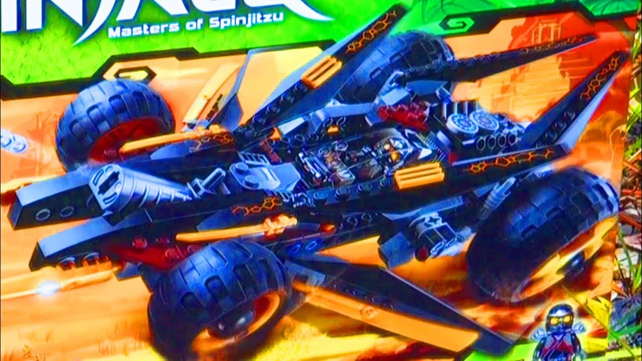 Lego ninjago cole 39 s tread assault toy review new 2012 - Voiture ninjago ...