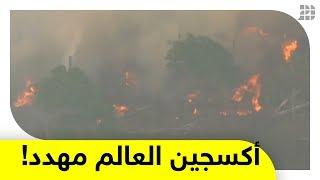 """""""رئة العالم"""" تحترق.. ورصيد العالم من المساحات الخضراء اللازمة للحياة مهدد!.. إليكم التفاصيل"""