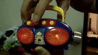 Circuit Bent Indian Music Radio Toy
