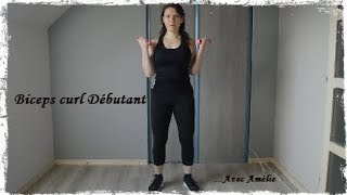 biceps curl ('exercice débutant)