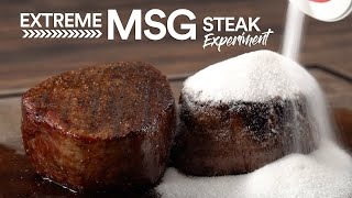 The Extreme UMAMI Steak Experiment | Guga Foods