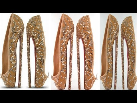 New eight inch high heel shoes by Christian Louboutin 2017