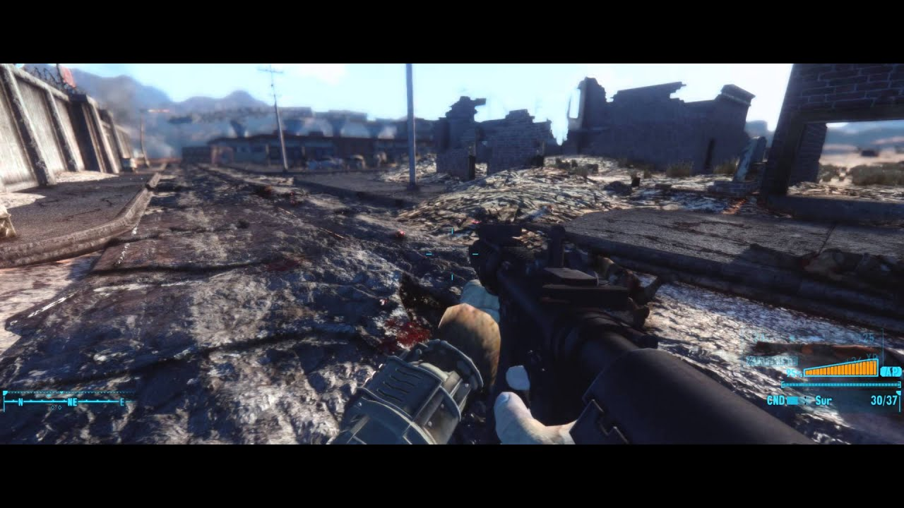how to run fnv at 2560x1080