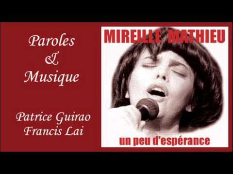 Un peu d'espérance - Mireille Mathieu