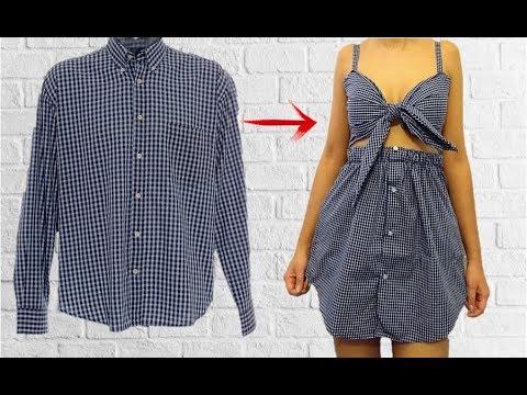 TRANSFORMA TU ROPA VIEJA A NUEVA - DIY CLOTHES - TRANSFORM YOUR OLD CLOTHES TO NEW