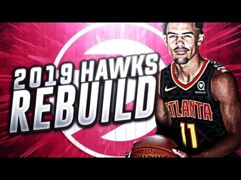 NEXT STEPH CURRY? 2019 REALISTIC HAWKS REBUILD! NBA 2K18