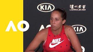 Madison Keys press conference (2R)   Australian Open 2019