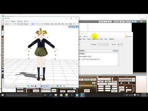 (MMD/PMX) Fix load model error problem - By Lineko Kagamine 2205