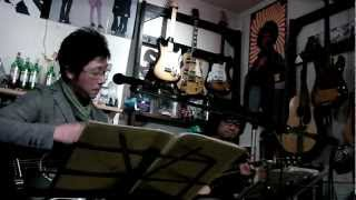 """2012/04/14 Live """"Acoustic Night"""" at Sound Space Charade in Nagaokak..."""