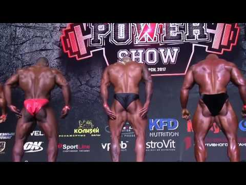 Bodybuilding 2017 Siberia Power Show