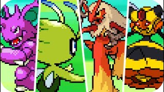 Pokémon Diamond & Pearl : All Pokémon Sprite Animations (HQ)