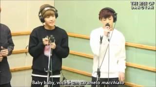 BTS (Bangtan Boys) - Coffee Live [Legendado PT-BR]