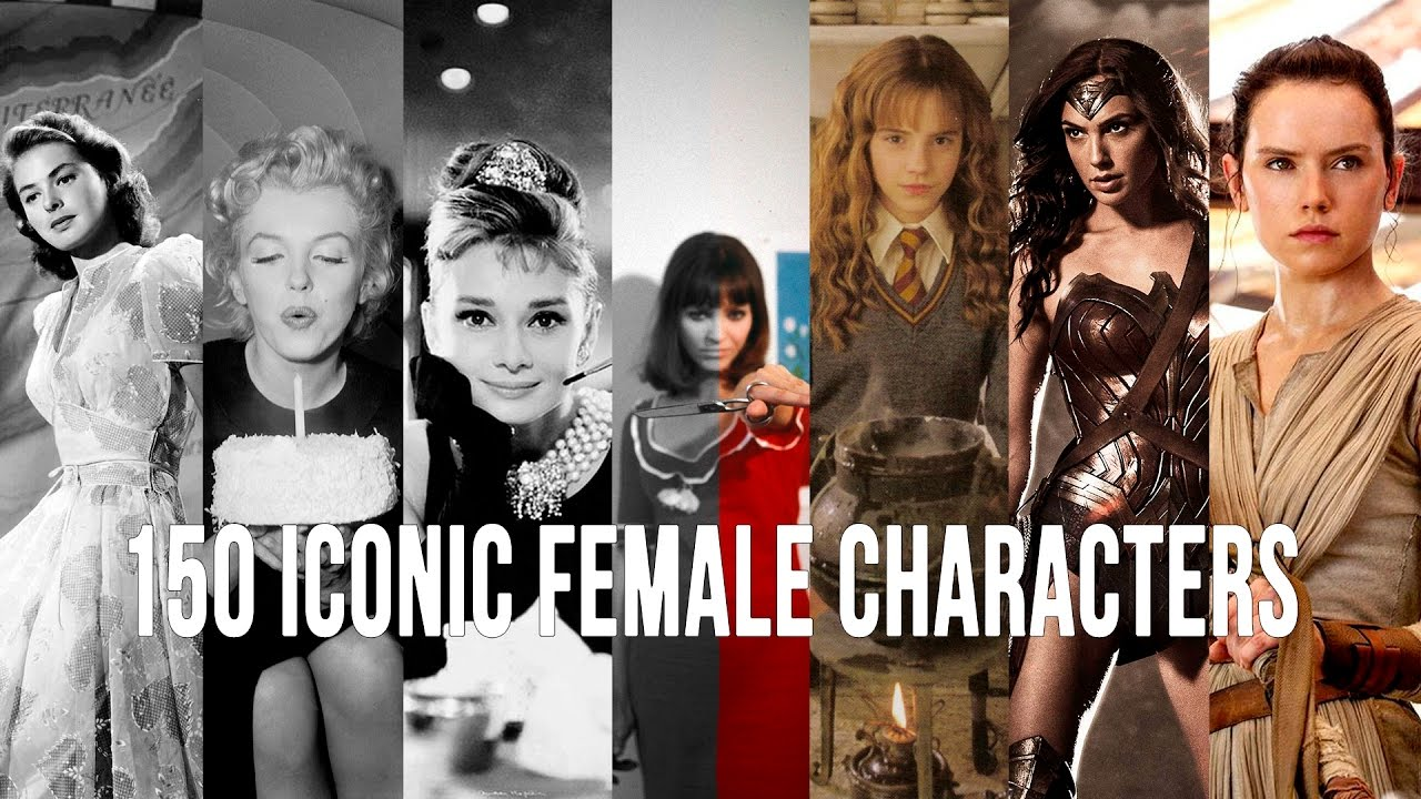 150 ICONIC FEMALE CHARACTERS