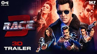 Race 3 Movie 3D Trailer | Salman Khan | Remo D