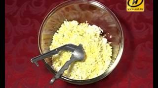 """Салат """"Змейка"""" - простой рецепт для праздничного стола"""