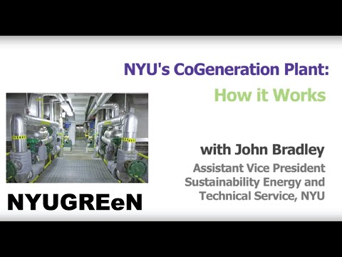 NYU's Cogeneration Plant: How It Works
