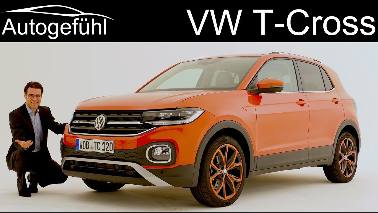 vw t cross new small suv review exterior interior. Black Bedroom Furniture Sets. Home Design Ideas