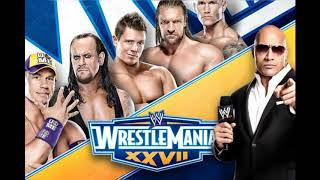 """WrestleMania 27 Theme - """"Written In The Stars"""" by Tinie Tempah featuring Eric Turner (Arena Effect)"""