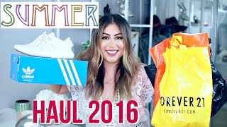 Summer Haul 2016! Forever 21, Adidas, Summer Outfits