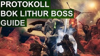 Destiny 2: Eskalationsprotokoll Boss Guide: BOK LITHUR, Hunger des Xol (Deutsch/German)