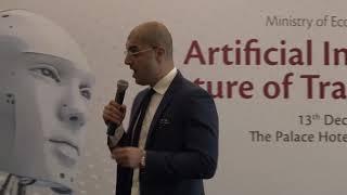 Samer Obeidat at Ministry of Economy Seminar