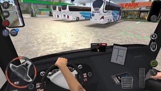 Bus Park Race Drivers !!! Bus Simulator : Ultimate Multiplayer! Wheels Games Android 3D screenshot 2