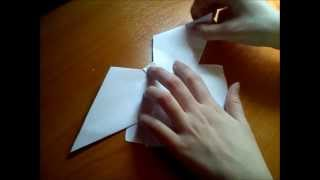Урок №1, как сделать бант из бумаги.