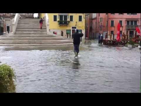 Chioggia acqua alta 1.nov.2012
