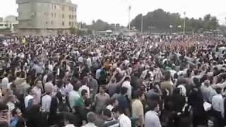 People Azadi street Riot in Tehran Iran Persian 16.06.2009 تظاهرات در تهران