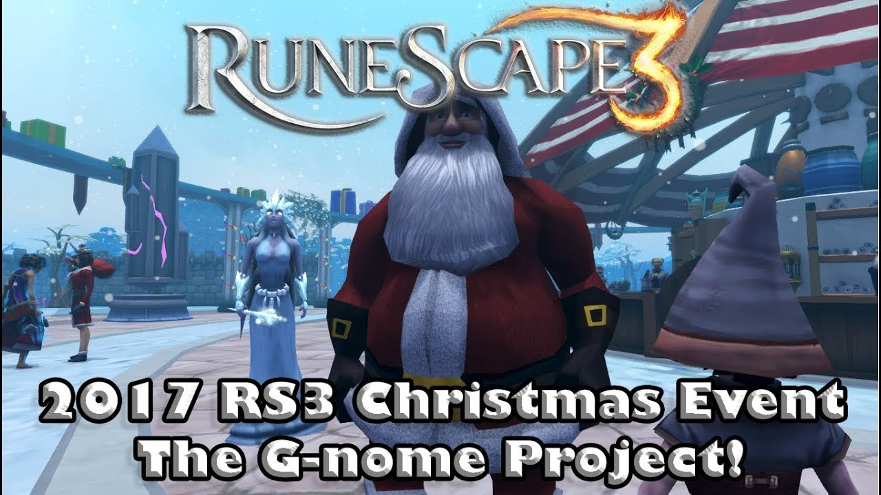 RS3 Holiday Event Guide   Christmas 2017   The G nome Project