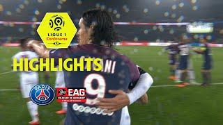 Paris saint-germain - ea guingamp ( 2-2 ) - highlights - (paris - eag) / 2017-18