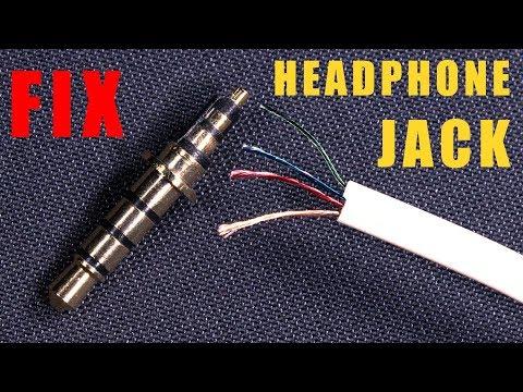 Fix - Repair EARPHONE/HEADPHONE JACK