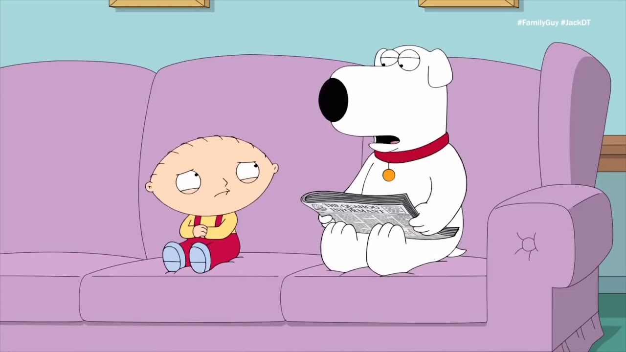 Family Guy - Stewie is Scared of Legos