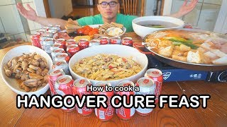 How to cook a HANGOVER CURE FEAST