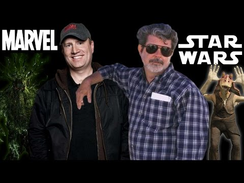 George Lucas Vs Kevin Feige - AMC Movie News