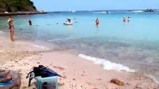 Паттайя. ко-Лан. пляж Сон-Вон (февраль 2014)(Это видео создано с помощью видеоредактора YouTube (http://www.youtube.com/editor), 2014-07-12T11:01:57.000Z)