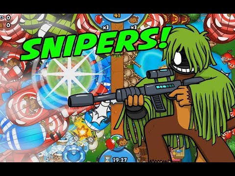 SNIPERS ROCK LATE GAME TOO! - Bloons TD Battles