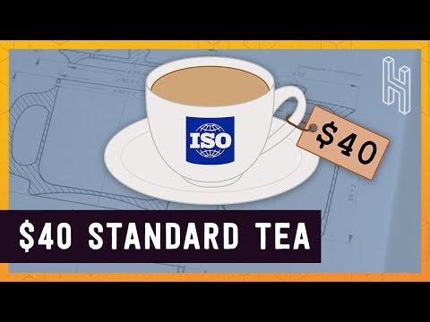 The $40 Internationally Standard Cup of Tea