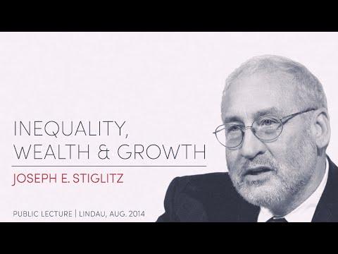 Joseph E. Stiglitz: »Inequality, Wealth and Growth« | Lindau 2015 -11-10