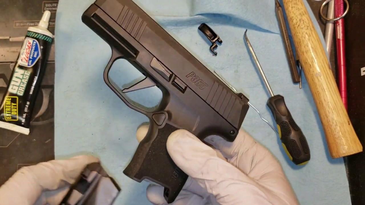 SIG P365 Grayguns Flat Trigger Installation