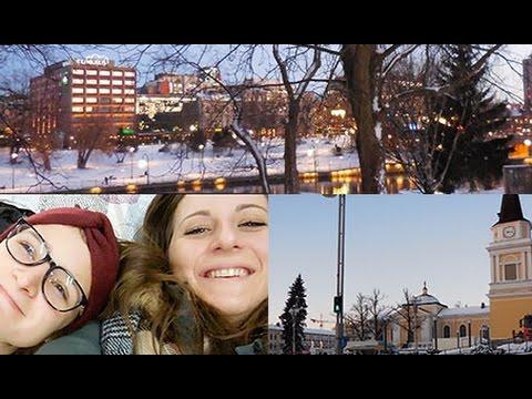 Erasmus Trip In Finland : Arriving in Finland, Tampere City Center & Ikea !