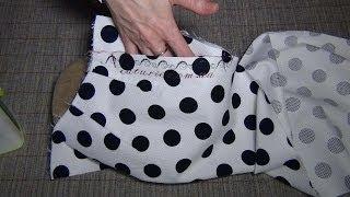 Как шить брюки: карман «отрезной бочок» «классика»(В этом видео-уроке шитья для начинающих рассматривается пошив кармана «отрезной бочек» с прямой линией..., 2014-04-24T12:40:01.000Z)