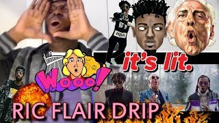 Download WOOOO!!!🔥 21 Savage, Offset, Metro Boomin - Ric Flair Drip REACTION!!! MP3 song and Music Video