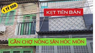 Mới! Bán nhà Hóc Môn 2019 ✅ [giá rẻ] 4x14m