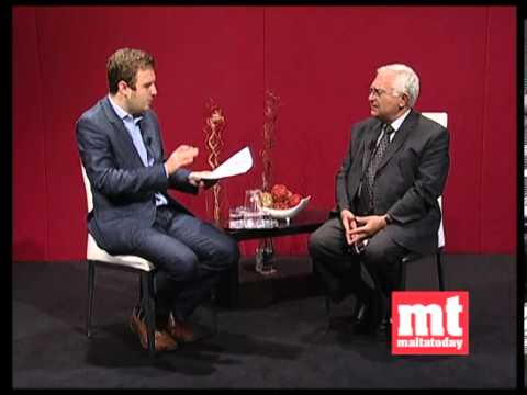 Interview with former EU Commissioner John Dalli 20 October 2012