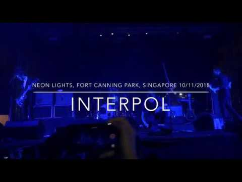 Interpol @Neon Lights, Fort Canning Park, Singapore 10/11/2018 Mp3