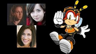 Comparing The Voices - Charmy Bee