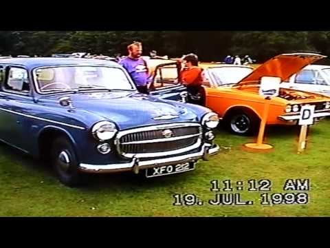 Hillman Rootes Classic Car Show Oxfordshire 1998 part one