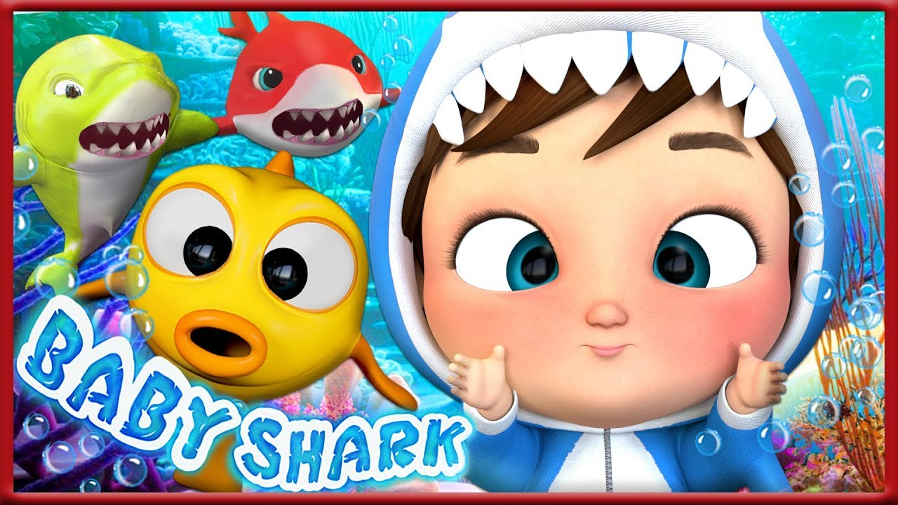 Baby Shark Dance | Sharks Sing and Dance! | Baby Shark Songs | Banana Cartoons